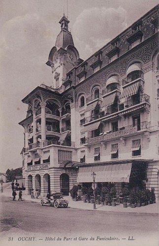 Lausanne Ouchy hôtel du parc et Gare du Funiculaire
