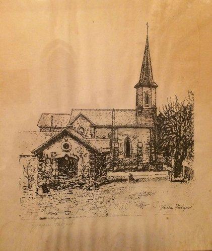 L'église de Pregny par Jérèm Falquet