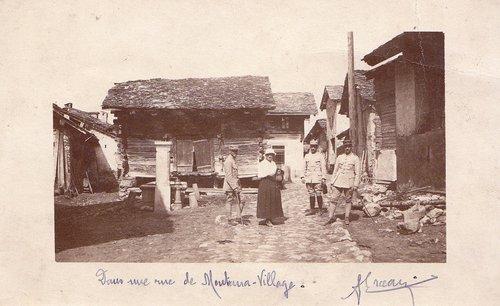 Internés militaires à Montana-Village