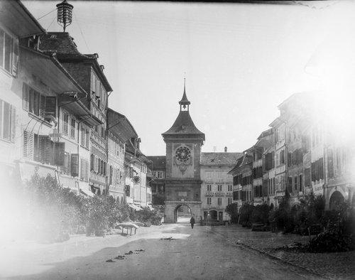 Morat, la Porte de Berne