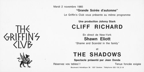 Cliff Richard - Invitation Gala at The Griffin's Club