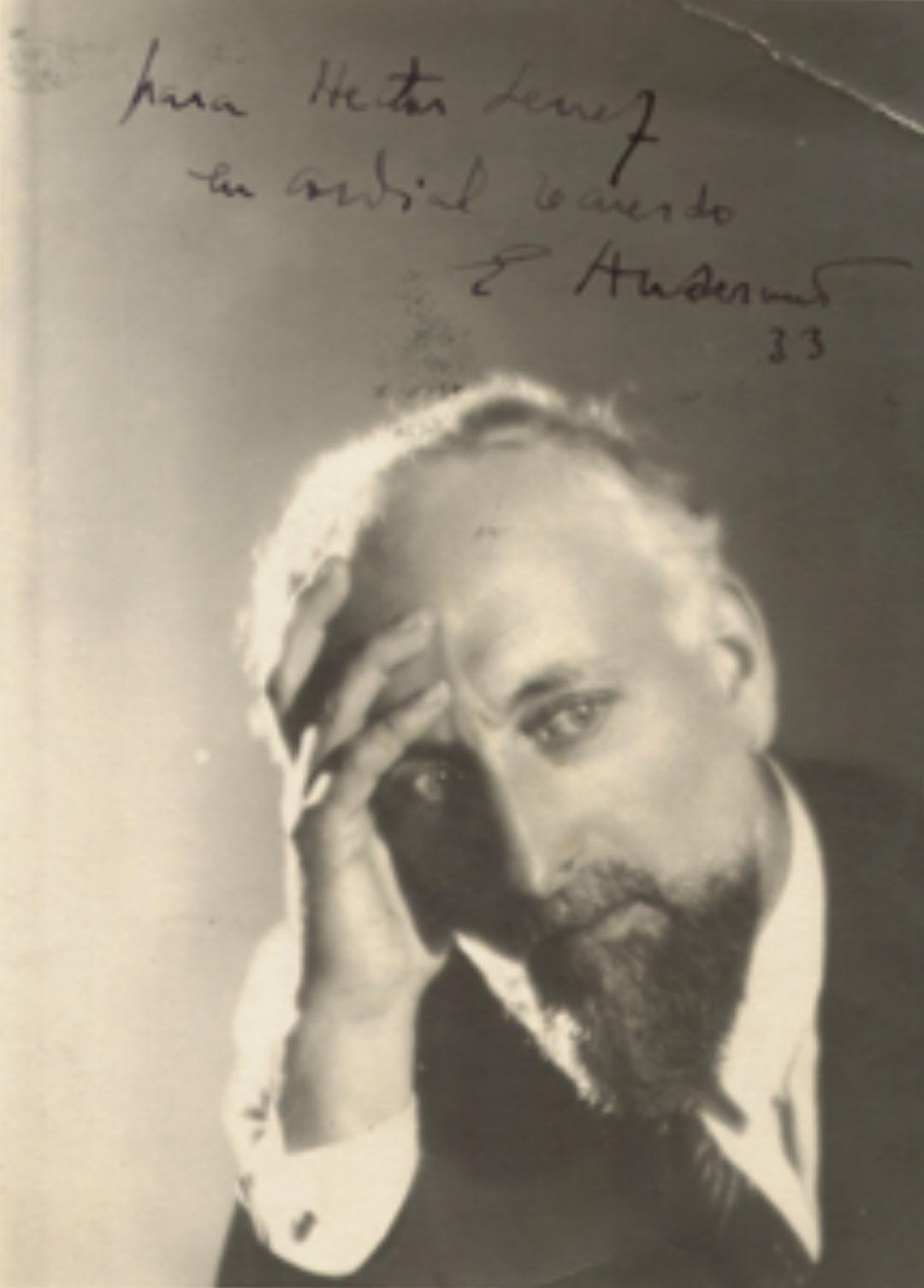 Ernest ANSERMET, env. 1933