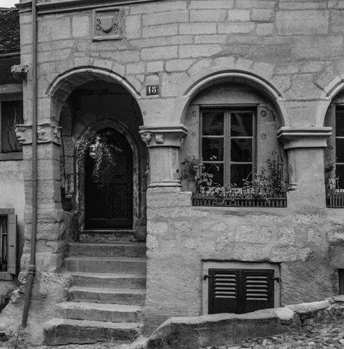 Entrée de la Maison des Etats de Vaud