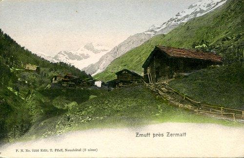 L'hameau de Zmutt