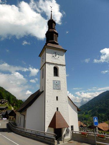 L'église de Val d'Illiez