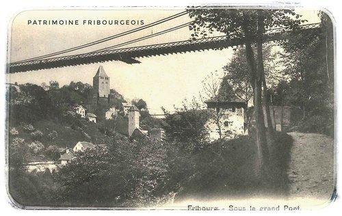 Fribourg - Sous le pont