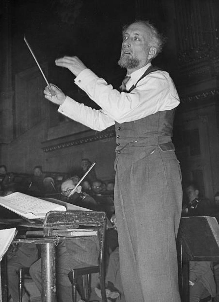 Ernest Ansermet en répétition dans les années 1930