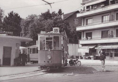Renens terminus du Tram