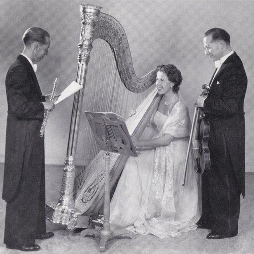 Wolfgang Amadeus MOZART, Concerto pour flûte et harpe, KV 299, Emmy HÜRLIMANN, harpe, Willy URFER, flûte, «Studioorchester Beromünster», Hermann SCHERCHEN, 1948
