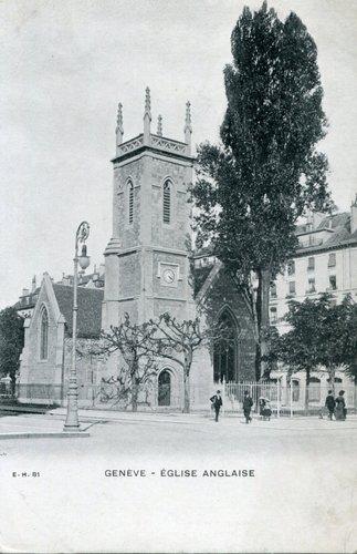 Genève, l'église anglicane