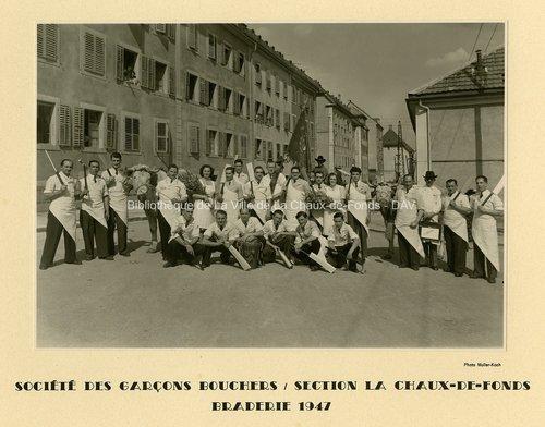 Société des Garçons Bouchers, section La Chaux-de-Fonds