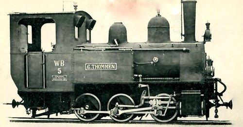 Locomotive du Waldenburg