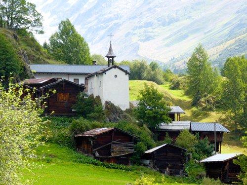 Le hameau d'Eisten