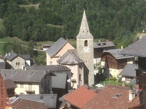 Vissoie et son église