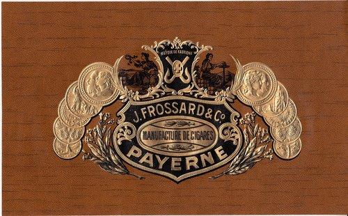 Les cigares J. Frossard à Payerne