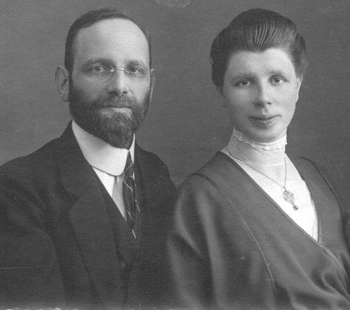 Franz et Mary Burnand