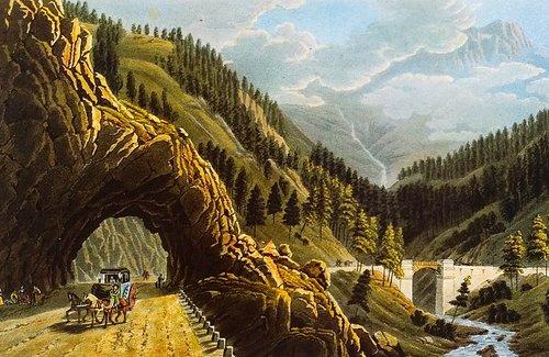 Gantertal, le pont Napoléon
