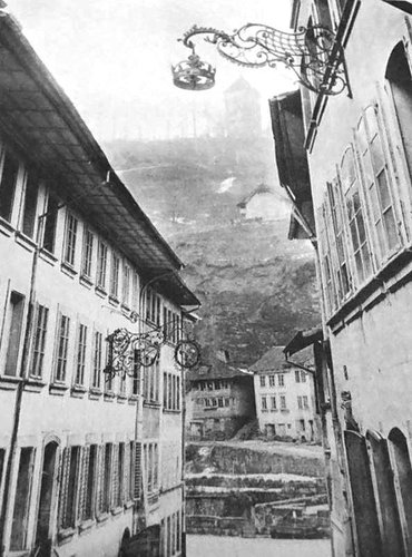 Fribourg, rue des Forgerons