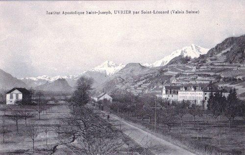Uvrier : institut Saint-Joseph