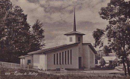 Lausanne église de Malley