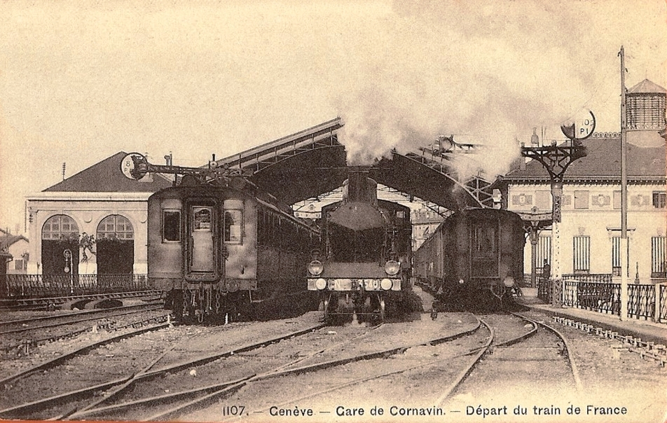 La ligne Genève-La Plaine et la traction des trains omnibus 1858-2018
