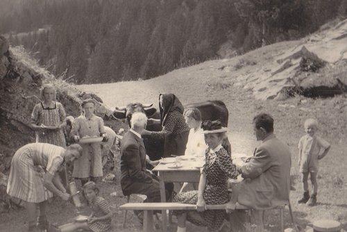 Raclette aux Barzettes avec des amis