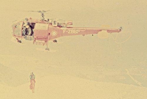 Sauvetage au Mont Blanc en 1972