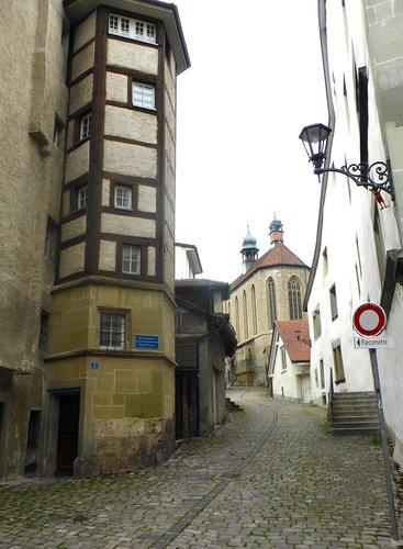 Fribourg, église Saint-Maurice