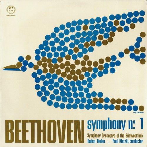 L. van BEETHOVEN, Symphonie No 1, GOSWF, Paul KLETZKI, Recto pochette
