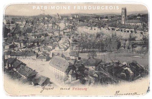 Fribourg - Vue générale