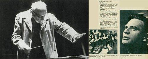 Franz LISZT, Eine Faust-Symphonie, S 108, Choeur Pro Arte, Ernst HÄFLIGER, OSR, Ernest ANSERMET, 1967