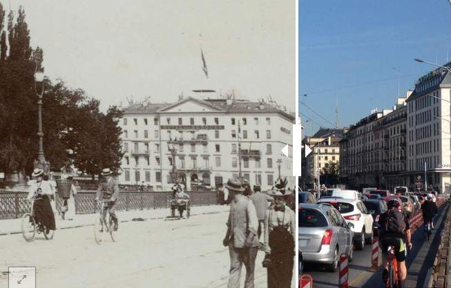 Genève: Hier/aujourd'hui