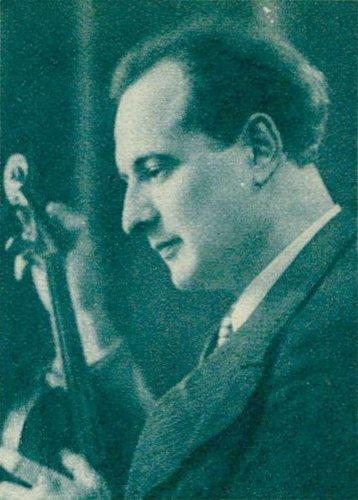 Visages de l'OSR - François CAPOULADE, env.1938