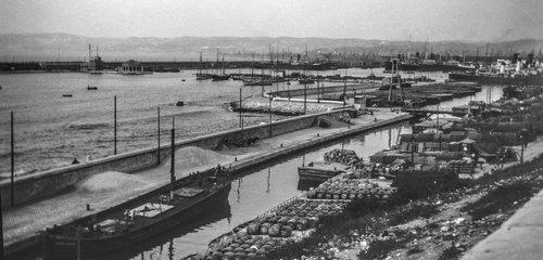 Port de la Joliette de Marseille
