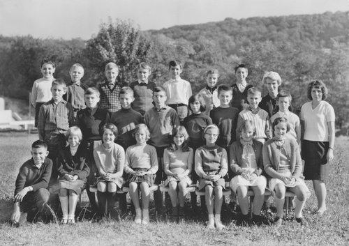 Ecole du Vieux-Moulin 1966