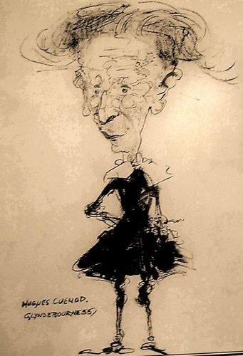Hugues CUÉNOD, Glyndebourne 1955