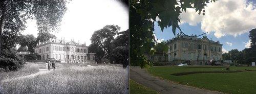 La villa du Parc La Grange à Genève à cent ans d'écart