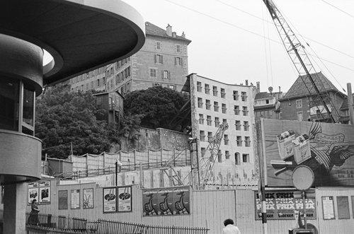 Genève, chantier de Confédération Centre