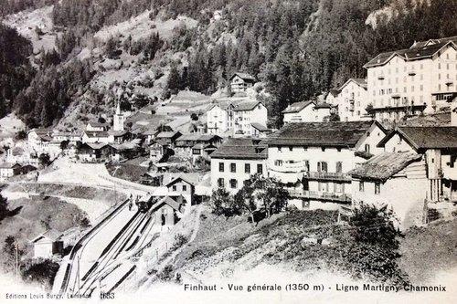 Le village de Finhaut