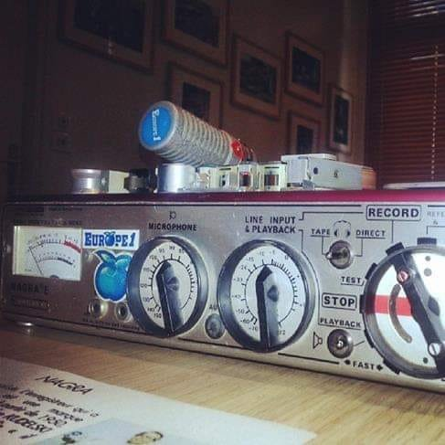 Le Nagra III E, magnéto préféré des radios périphériques