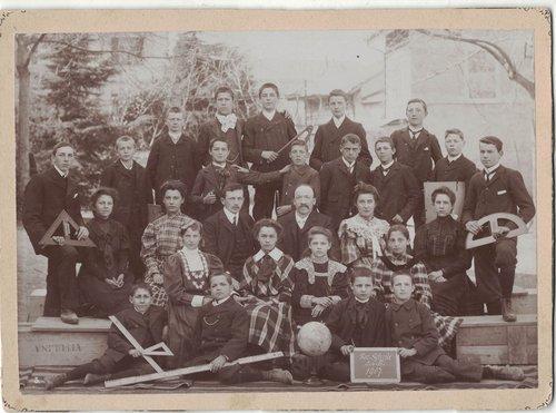 Classe secondaire 1907