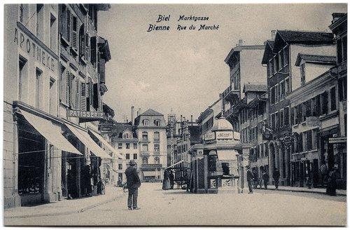 Bienne : Rue du Marché
