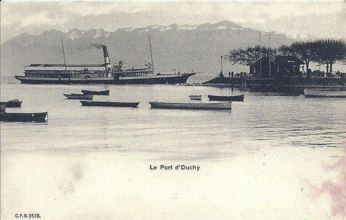 Lausanne Ouchy bateau Genève