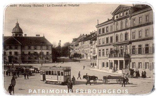Fribourg - Le convict et l'hôpital