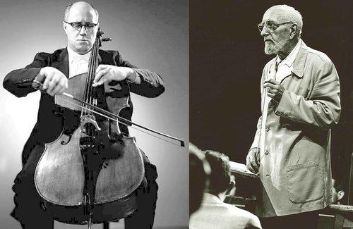 Peter TCHAIKOWSKI, Variations sur un thème rococo op. 33, Mstislaw ROSTROPOWITSCH, OSR, Ernest ANSERMET, 1966