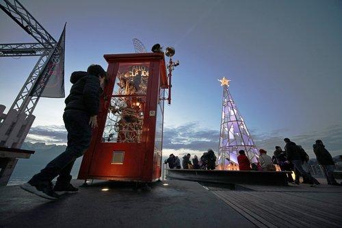 Place du Marché Montreux, marché de Noël