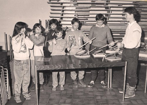 Apprentis fifres et tambours vers 1987