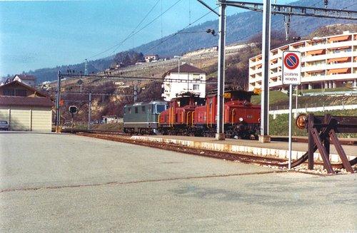 Train de locomotives (3)