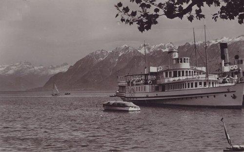 Lausanne Ouchy le bateau Genève