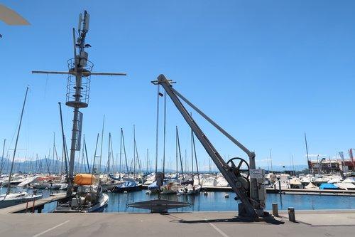 Grue - port d'Ouchy (2018)